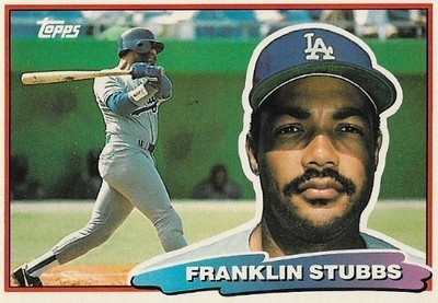 Stubbs, Franklin / Los Angeles Dodgers | Topps #112 | Baseball Trading Card | 1988 | Topps Big Series