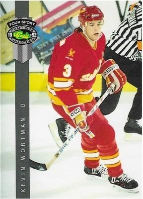 Wortman, Kevin / Salt Lake Golden Eagles   Classic Four Sport #220   Hockey Trading Card   1992