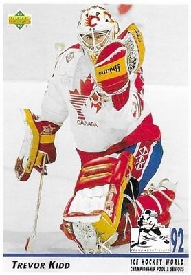 Kidd, Trevor / Canada   Upper Deck #385   Hockey Trading Card   1992-93   World Championship