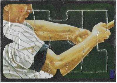 Killebrew, Harmon / Minnesota Twins   Leaf #22-23-24   Baseball Trading Card   1991   Puzzle Card   Hall of Famer