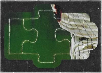 Killebrew, Harmon / Minnesota Twins   Leaf #28-29-30   Baseball Trading Card   1991   Puzzle Card   Hall of Famer