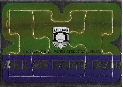 Killebrew, Harmon / Minnesota Twins   Leaf #58-59-60   Baseball Trading Card   1991   Puzzle Card   Hall of Famer