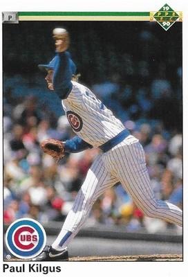 Kilgus, Paul / Chicago Cubs | Upper Deck #155 | Baseball Trading Card | 1990