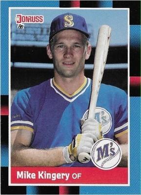 Kingery, Mike / Seattle Mariners | Donruss #322 | Baseball Trading Card | 1988