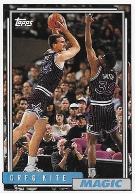Kite, Greg / Orlando Magic | Topps #332 | Basketball Trading Card | 1992-93
