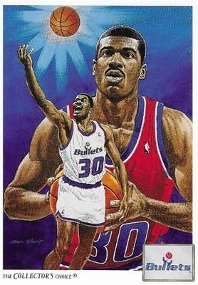 King, Bernard / Washington Bullets | Upper Deck #74 | Basketball Trading Card | 1991-92 | Hall of Famer | The Collector's Choice