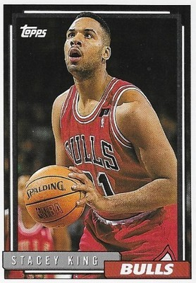 King, Stacey / Chicago Bulls | Topps #359 | Basketball Trading Card | 1992-93