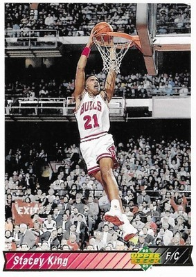 King, Stacey / Chicago Bulls | Upper Deck #285 | Basketball Trading Card | 1992-93