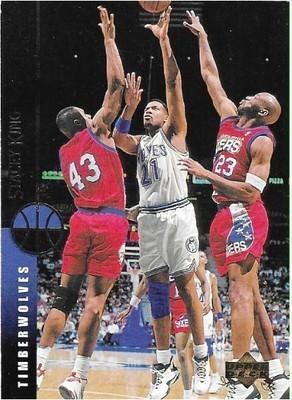 King, Stacey / Minnesota Timberwolves | Upper Deck #152 | Basketball Trading Card | 1994-95