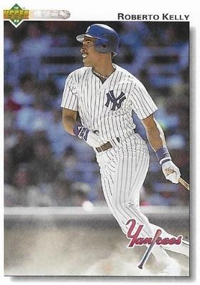 Kelly, Roberto / New York Yankees | Upper Deck #577 | Baseball Trading Card | 1992
