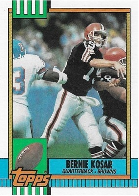 Kosar, Bernie / Cleveland Browns | Topps #163 | Football Trading Card | 1990