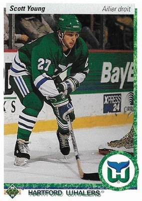 Young, Scott / Hartford Whalers | Upper Deck #87 | Hockey Trading Card | 1990-91 | Canada