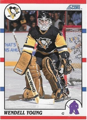 Young, Wendell / Pittsburgh Penguins | Score #298 | Hockey Trading Card | 1990-91 | Rookie Card
