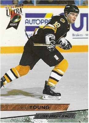 Young, C.J. / Boston Bruins | Ultra #248 | Hockey Trading Card | 1993-94 | Rookie