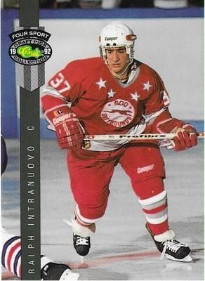 Intranuovo, Ralph / Sault Ste. Marie Greyhounds | Classic Four Sport #176 | Hockey Trading Card | 1992
