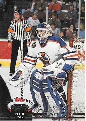 Ing, Peter / Edmonton Oilers | Stadium Club #347 | Hockey Trading Card | 1992-93