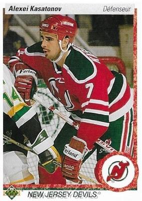 Kasatonov, Alexei / New Jersey Devils | Upper Deck #286 | Hockey Trading Card | 1990-91 | Canada | Rookie Card