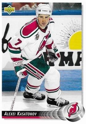 Kasatonov, Alexei / New Jersey Devils | Upper Deck #96 | Hockey Trading Card | 1992-93