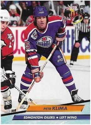 Klima, Petr / Edmonton Oilers | Ultra #59 | Hockey Trading Card | 1992-93