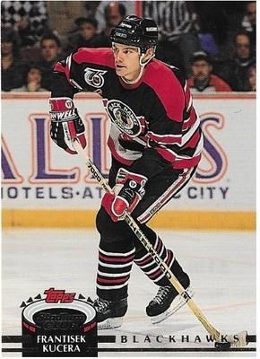 Kucera, Frantisek / Chicago Blackhawks | Stadium Club #438 | Hockey Trading Card | 1992-93