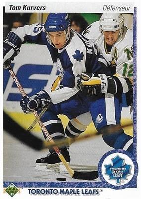 Kurvers, Tom / Toronto Maple Leafs | Upper Deck #160 | Hockey Trading Card | 1990-91 | Canada
