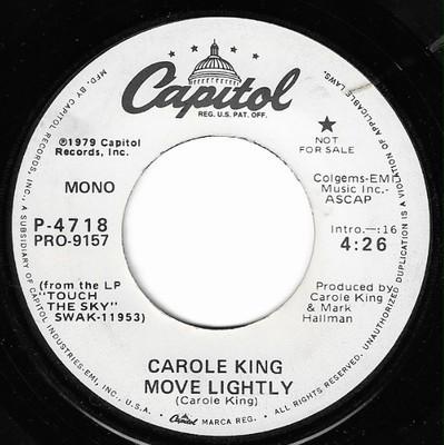 King, Carole / Move Lightly | Capitol P-4718 | Single, 7