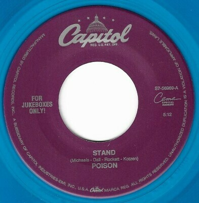 Poison / Stand | Capitol S7-56969 | Single, 7