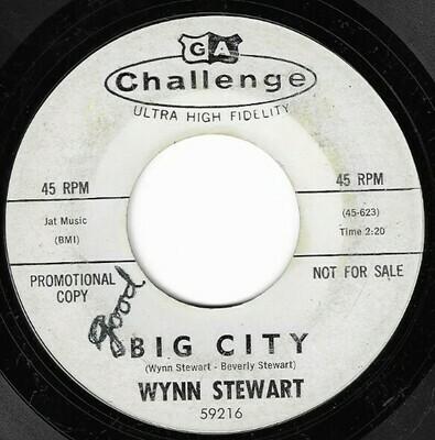 Stewart, Wynn / Big City | Challenge 59216 | Single, 7
