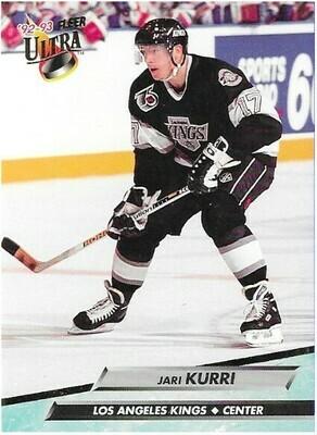 Kurri, Jari / Los Angeles Kings | Ultra #85 | Hockey Trading Card | 1992-93 | Hall of Famer