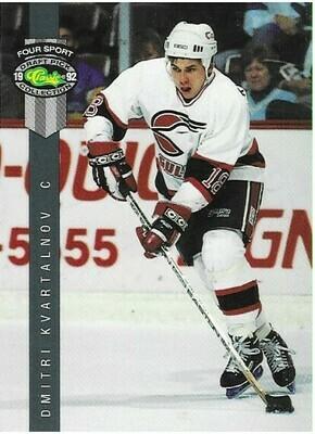 Kvartalnov, Dmitri / San Diego Gulls | Classic Four Sport #222 | Hockey Trading Card | 1992