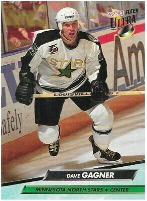 Gagner, Dave / Minnesota North Stars | Ultra #94 | Hockey Trading Card | 1992-93