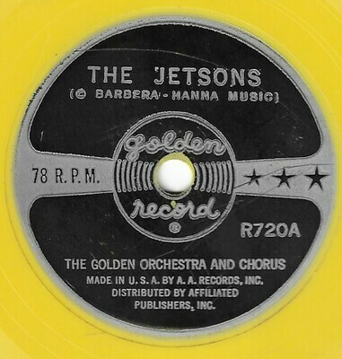 Golden Orchestra and Chorus / The Jetsons | Golden Records R720 | Single, 6