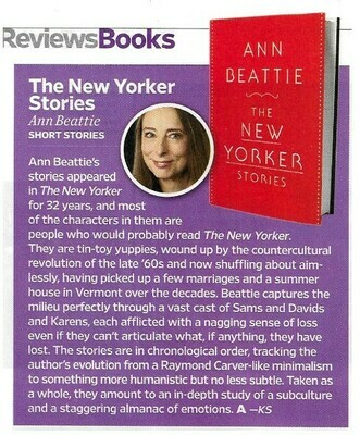 Beattie, Ann / The New Yorker Stories | Magazine Review | November 2010