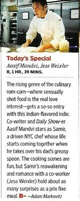 Mandvi, Aasif / Today's Special | Magazine Review | November 2010