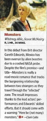 Able, Whitney / Monsters | Magazine Review | November 2010