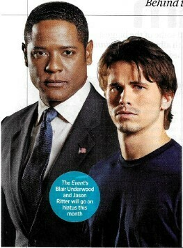 Ritter, Jason / Struggling, The Event Will Try Again Next Year | Magazine Article | November 2010 | Blair Underwood