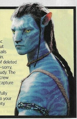 Worthington, Sam / Avatar: Extended Collector's Edition | Magazine Review | November 2010