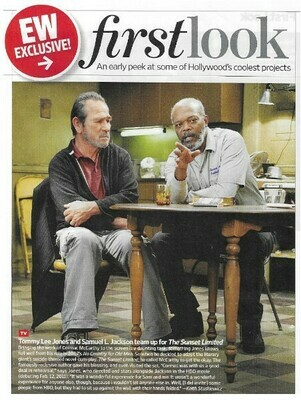 Jones, Tommy Lee / The Sunset Limited | Magazine Article | November 2010 | with Samuel L. Jackson