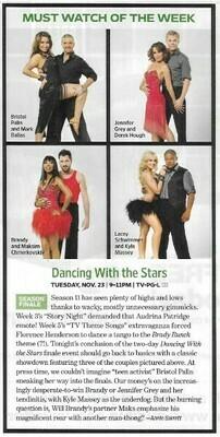 Palin, Bristol / Dancing With the Stars | Magazine Article | November 2010
