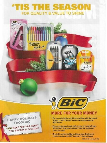 Bic / Tis the Season | Magazine Ad | November 2010