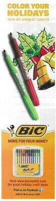 Bic / Color Your Holidays | Magazine Ad | November 2010