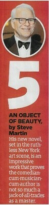 Martin, Steve / An Object of Beauty | Book Review | November 2010