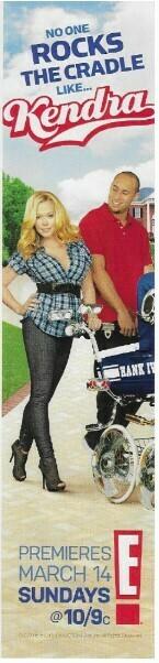 Wilkinson, Kendra / No One Rocks the Cradle Like... Kendra | Magazine Ad | March 2010