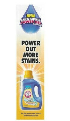 Arm + Hammer / Power Gel - Power Out More Stains | Magazine Ad | March 2010