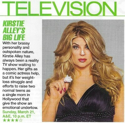 Alley, Kirstie / Kirstie Alley's Big Life | Magazine Review with Photo | March 2010