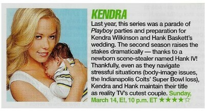 Wilkinson, Kendra / Kendra | Magazine Review with Photo | March 2010