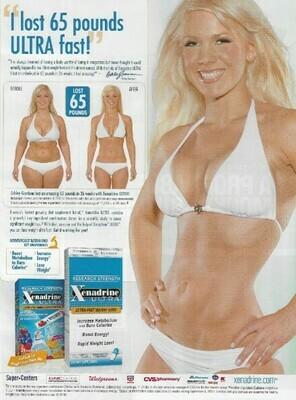 Xenadrine / I Lost 65 Pounds Ultra Fast! | Magazine Ad | March 2010