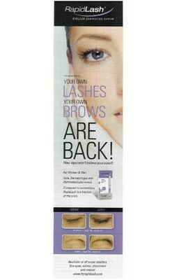 RapidLash / Your Own Lashes - Your Own Brows Are Back! | Magazine Ad | March 2010