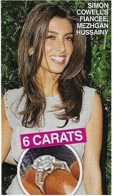 Hussainy, Mezhgan / 6 Carats   2 Magazine Photos with Caption   March 2010
