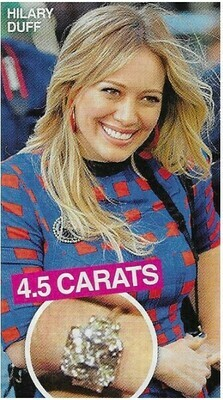 Duff, Hilary / 4.5 Carats   2 Magazine Photos with Caption   March 2010